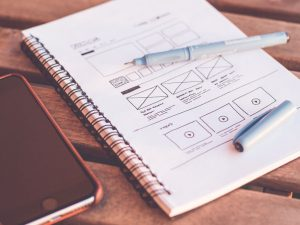 Website framework sketches