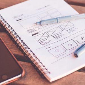 Website framework sketches